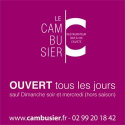 Horaire du Cambusier - restaurant Saint Malo